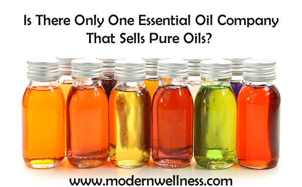 is there only one essential oil company that sells pure oils