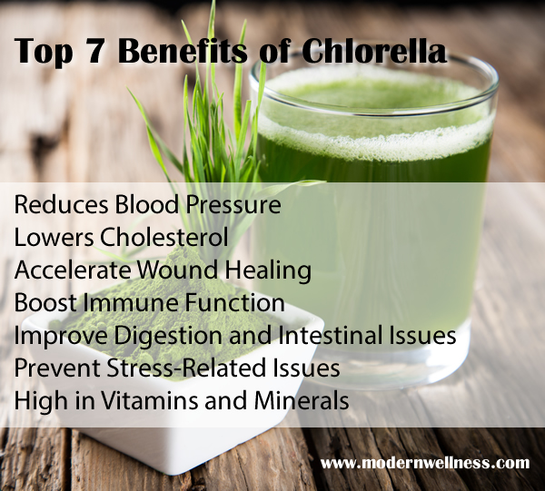 Top 7 Benefits of Chlorella