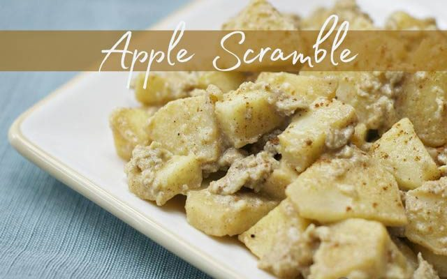 Scrumptious Apple Scramble