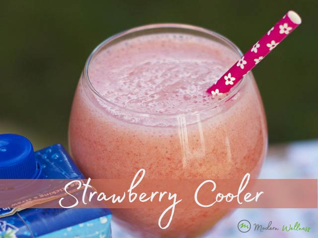 Tangy Strawberry Cooler