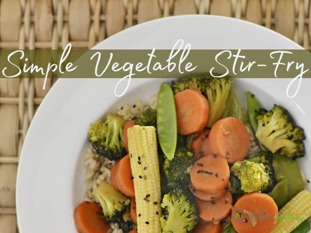 Simple Vegetable Stir Fry