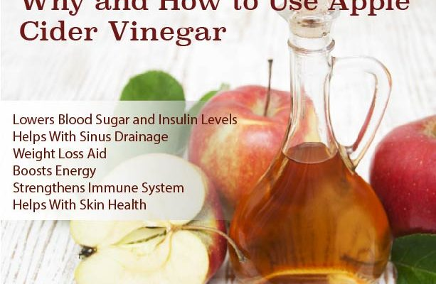Why and How To Use Apple Cider Vinegar