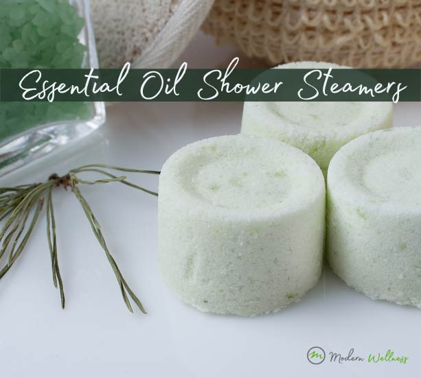 DIY Essential Oil Shower Steamers