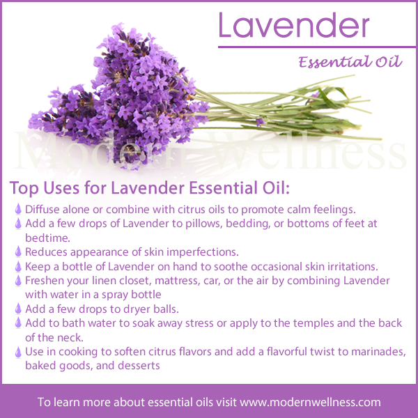 Top Uses For Lavender Essential Oil