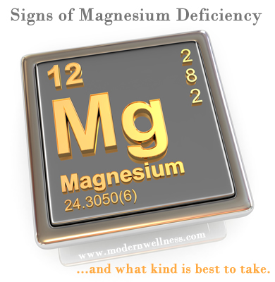 Magnesium Deficiency and What Kind Is Best To Take?
