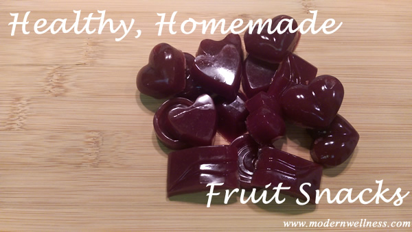 DIY Healthy Homemade Fruit Snacks