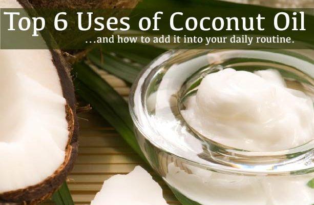 Top 6 Benefits of Coconut Oil