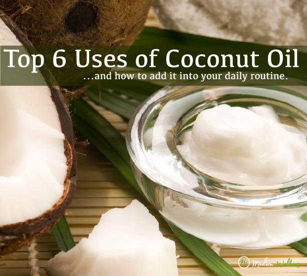 Top 6 Benefits of Coconut Oil