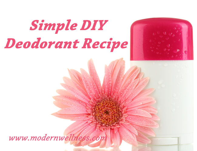 Simple DIY Deodorant Recipe