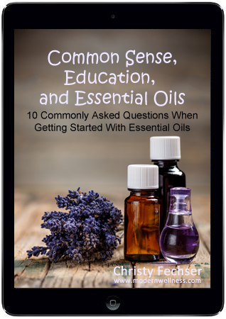 Common Sense, Education, and Essential Oils eBook