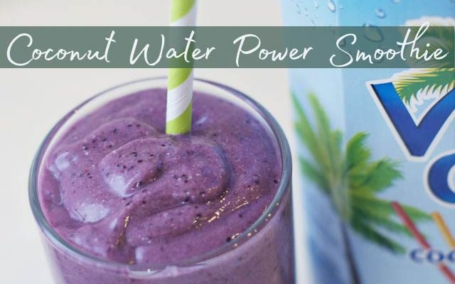 Coconut Water Power Smoothie