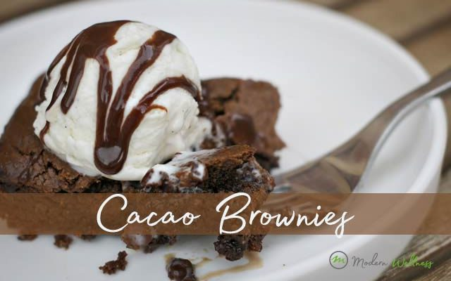 Gluten Free Cacao Brownies