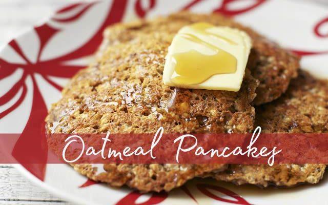 Delicious Gluten Free Oatmeal Pancakes