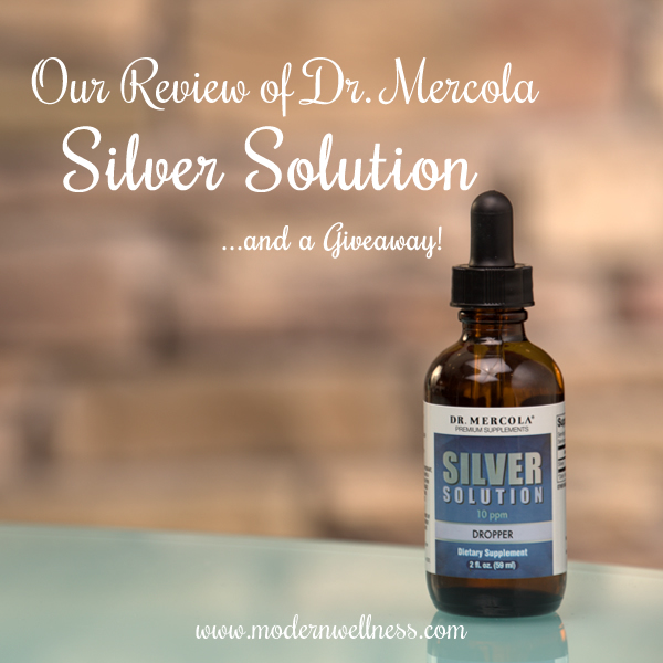 Our Review of Dr. Mercola Silver Solution – Colloidal Silver