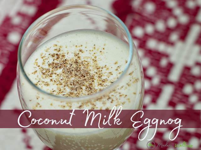 Coconut Milk Egg Nog