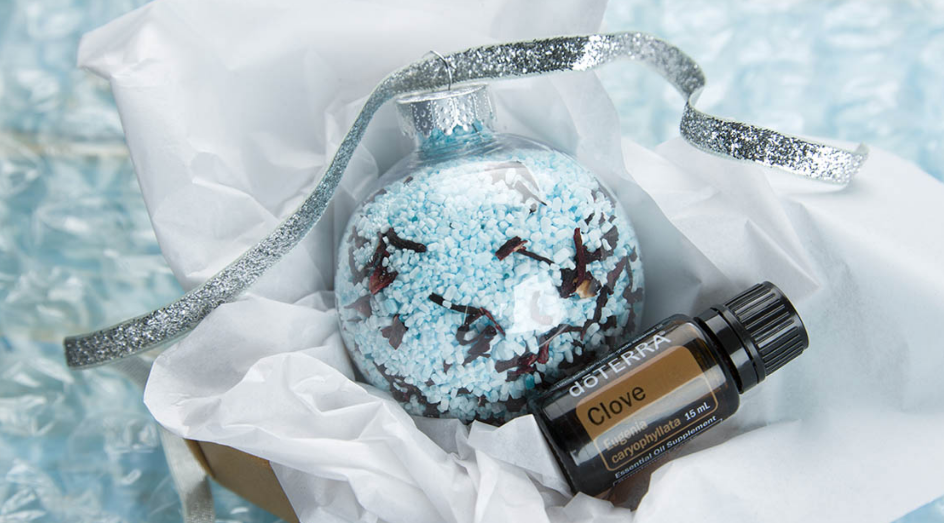 DIY – Holiday Bath Salt Ornaments